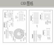 地面铺装详细CAD CAD