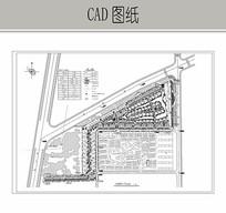 高档综合住宅区CAD