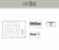 古民居建筑平立面CAD