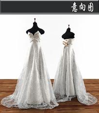 婚纱3D模型