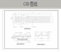 蓝波广场木板桥施工详图