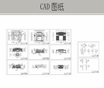 民居式餐厅建筑套图
