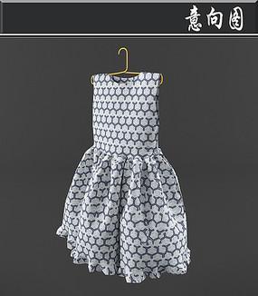 女士连衣裙3D模型