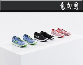 运动鞋3D模型