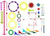 景观建筑分析图图标