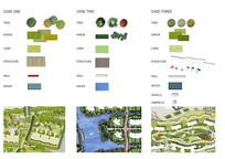 景观设计平面植物硬装贴图素材