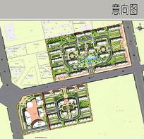 小区规划建筑方案设计