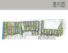带状小区住宅规划