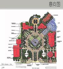 广场平面设计 JPG