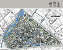 环水居住区景观设计平面