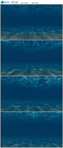 蓝色水波纹背景视频