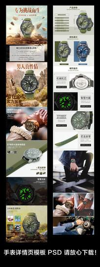 淘宝手表详情页设计