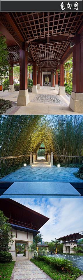 原创摄影图 建筑摄影 名胜古迹 中式庭院  下载收藏 中式庭院文化景墙图片