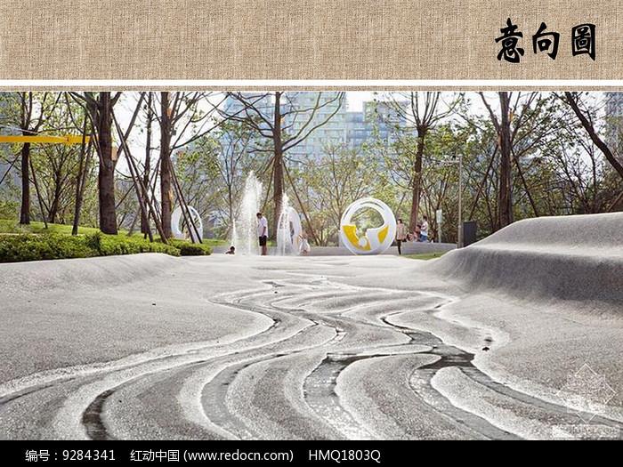 公园水景设计图片