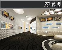 古典文化馆3D模型