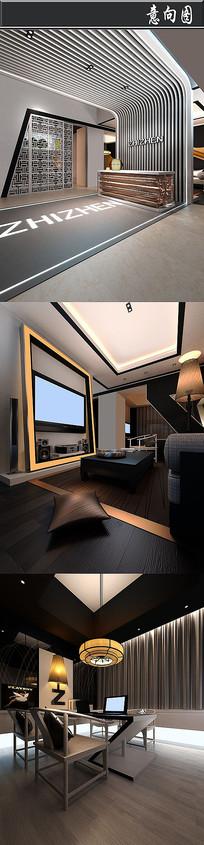 室内设计获奖办公室意向图