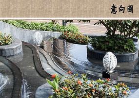 水景设计意向 JPG