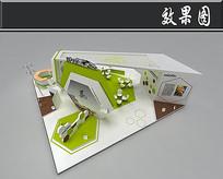 自行车展厅3D模型(无材质