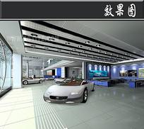 本田汽车4S店效果图 JPG