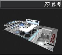 长安汽车集团展厅3D模型