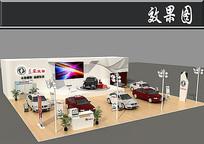 东风风神车展展厅效果图 JPG
