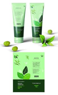 绿茶护手霜包装