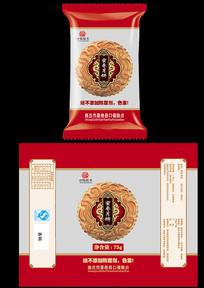 蜜枣月饼包装设计