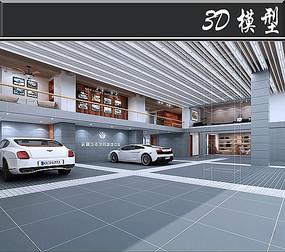 汽车护理中心3D模型