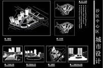 商场建筑规划设计图纸  dwg