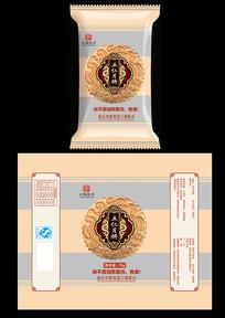 五仁月饼包装设计
