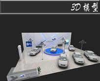 五星汽车展厅3D模型