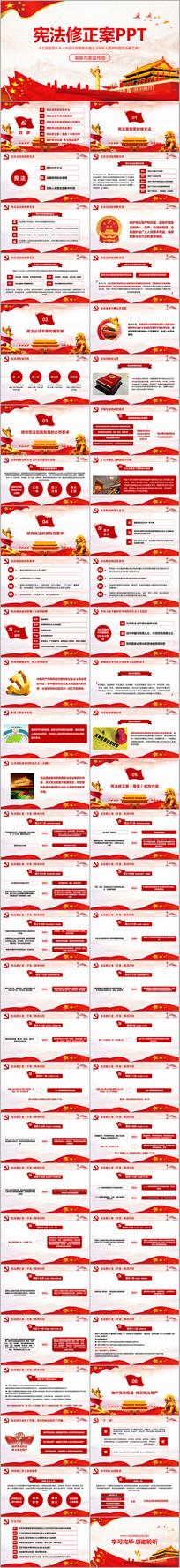 中华人民共和国宪法修正案学习PPT