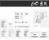 奔驰展厅建筑施工图