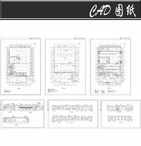 本田汽车展厅施工图