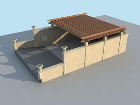 车库入口模型