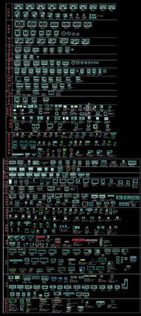 厨具CAD图块 dwg