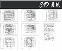 大型影剧院建筑CAD图纸