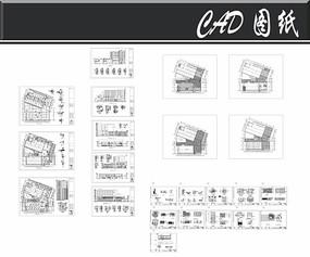 福特4S店建筑和装修图