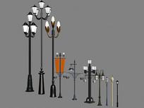 各式灯具3D模型