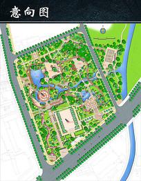公园设计园林设计素材PSD