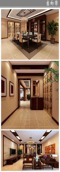 古色古香住宅室内设计 JPG
