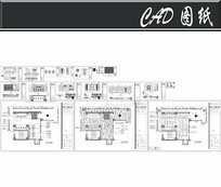 甲壳虫KTV大厅施工图