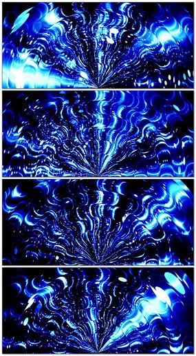 蓝色梦想舞台led视频
