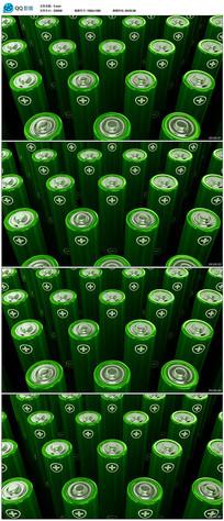 绿色矩阵电池视频