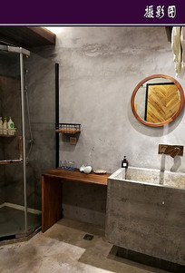 某民宿特色卫浴间