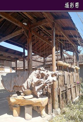 木质结构的构筑物