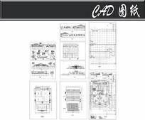 汽车展厅建筑图纸