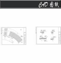 曲型停车场铺装图 dwg
