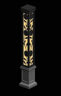 铁艺景观灯柱