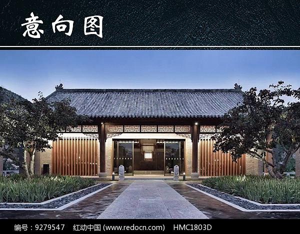 正门古建筑图片